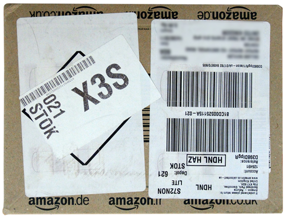 Amazon package 1